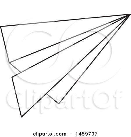 paper airplane clipart black and white paper airplane clipart black and white collection