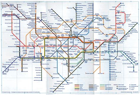 map evolution london  underground railway