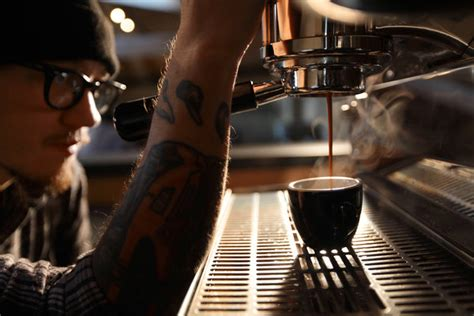 At Coffee Training Camp, Learning To Create The Perfect
