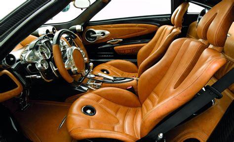 pagani interior car and driver