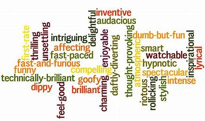 Evaluative Positive Modifiers Words Language Examples English