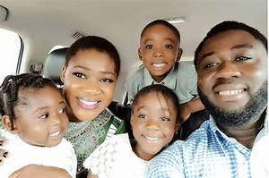 Mercy Johnson, Her Husband And Children In Adorable New Photos