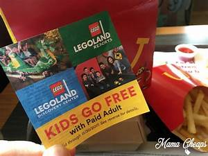 LEGOLAND Discount Coupon FREE Kids Ticket with Paid
