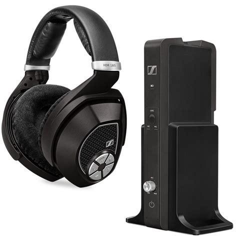 sennheiser rs 185 rf wireless headphone system home audio theater
