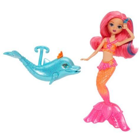 barbie  pearl princess mermaid doll  dolphin