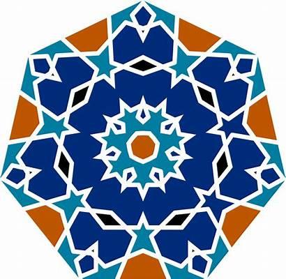 Islamic Geometric Tile Clipart Patterns Clip Vector