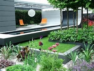 Petit Jardin Moderne : petit jardin moderne visite d 39 oasis en 50 photos ~ Dode.kayakingforconservation.com Idées de Décoration