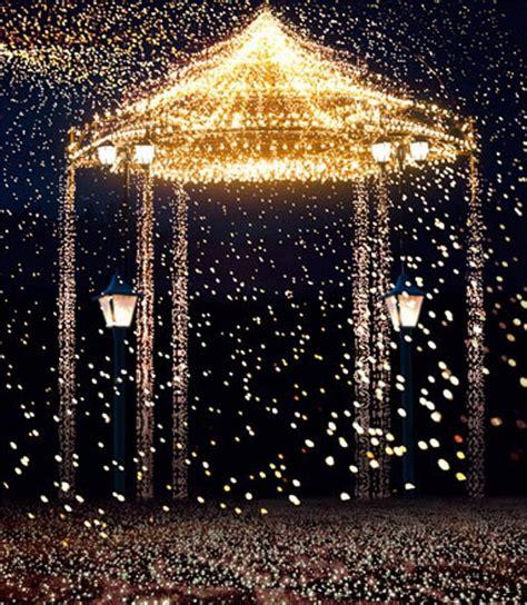 2019 Gold Lights Bright Pavilion Romantic Wedding