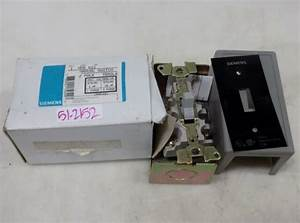 Siemens 2 Pole Toggle Manual Switch Mms Kg1 Nib