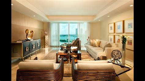 Luxury Modern Dining Room Living Room Interior Design