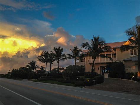The Seagate's private Beach Club Delray Beach Florida