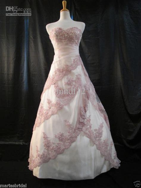Wedding Dress Light Pink Mauve Classic Wedding Dresses