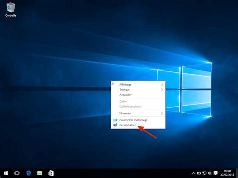 bureau fond d 馗ran comment changer le fond d 39 écran de windows 10