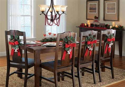 decorating chairs for christmas decorate your dinning with these lovely chair ideas godfather style