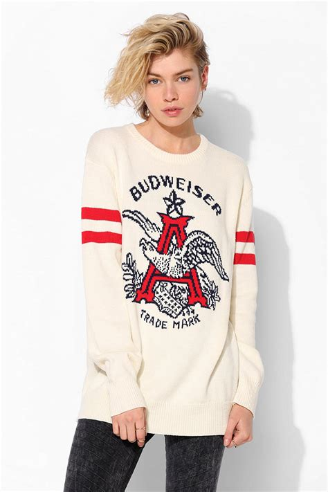 budweiser sweater junk food budweiser sweater from outfitters