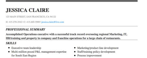 Resume White Space by Best Formats For Resumes Ideasplataforma