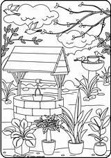 Coloring Adults Adult Printable Colorear Paisajes Malvorlagen Pintar Dibujos Desenhos Coloriage Colorir Paisaje Imprimir Nature Ausmalen Adultos Colorier Sheets Grown sketch template