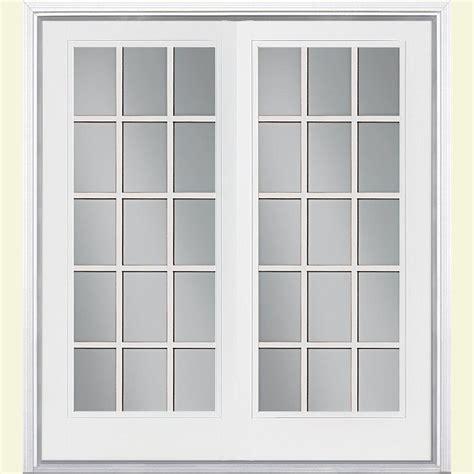 jeld wen 72 in x 80 in steel white prehung right