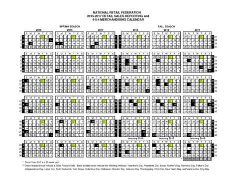 retail calendar printable calendar