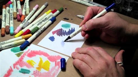 distress marker coloring youtube