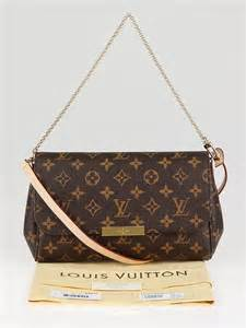 louis vuitton monogram canvas favorite clutch mm bag