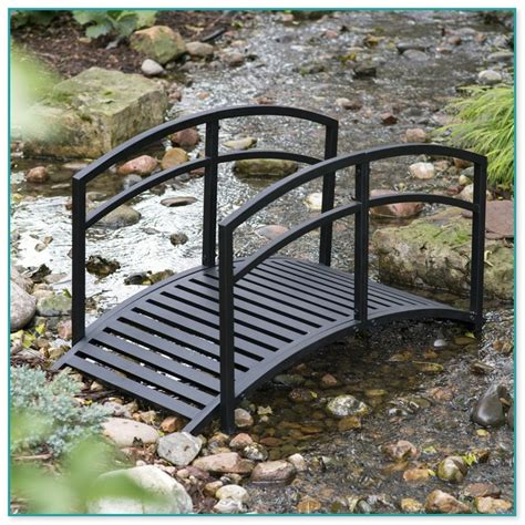 metal garden bridge metal bridges for gardens