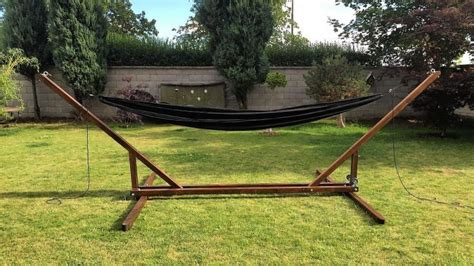 Diy Hammock Stands by 4 Great Diy Portable Hammock Stand Plans For Cing