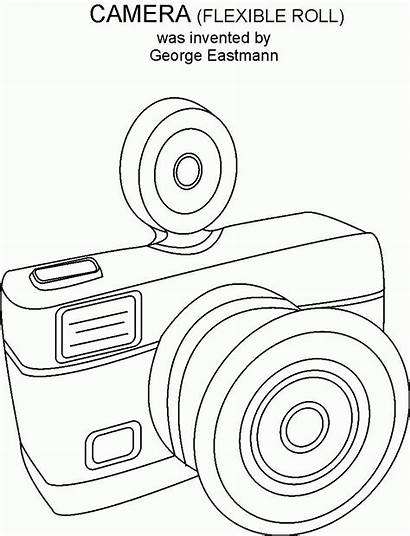 Coloring Camera Pages Adults Popular Printable Coloringhome