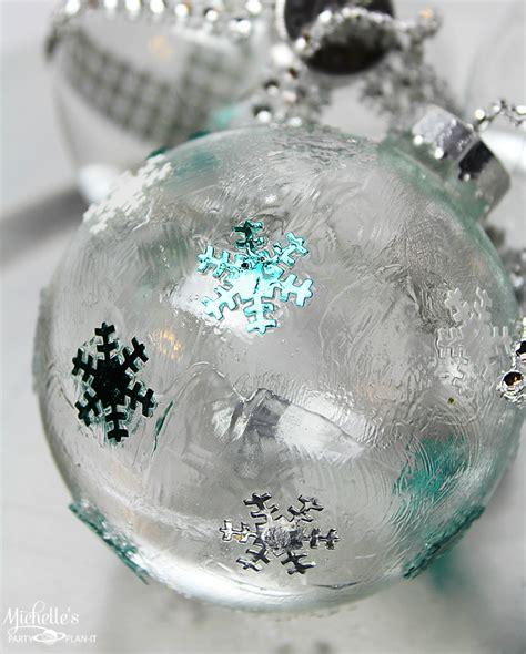 Diy Ideas To Decorate Clear Ornaments  Creative Juice