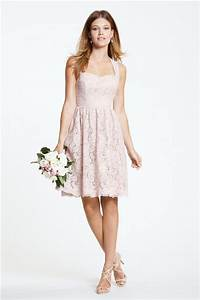 a line sweetheart keyhole open back short blush pink lace With short dress for wedding party