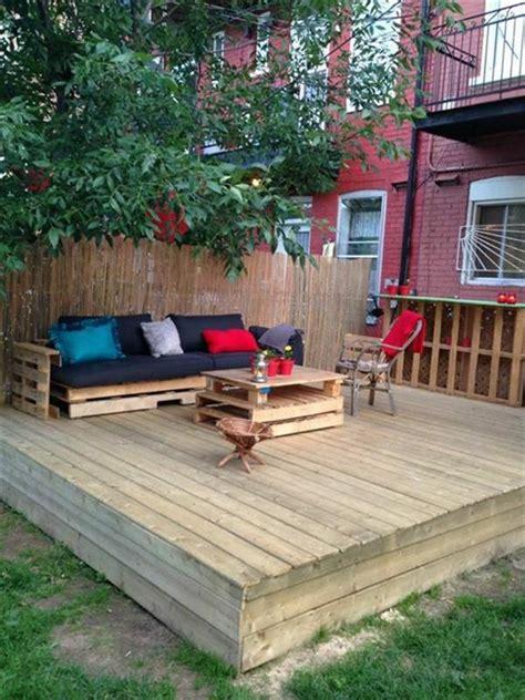 diy outdoor ideas diy shipping pallet garden ideas