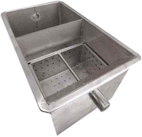 kitchen grease trap design amanzi matters 187 grease traps 4924