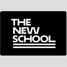 The New School Laptop Skin  White Logo  The New School Thenewstorenyc