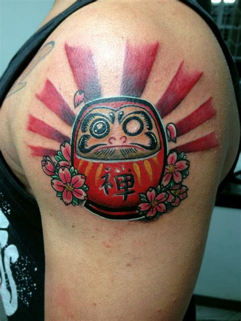 eye daruma doll tattoos