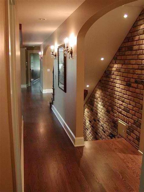 beautiful brick accent wall basement ideas pinterest