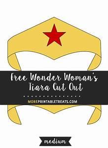 Wonder Woman Tiara Template