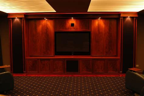 home theater cabinet 23 basement home theater design ideas for entertainment