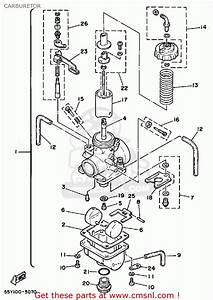 Yamaha Yz125 1985  F  Usa Carburetor