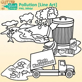 pollution clip art conservation  land water air
