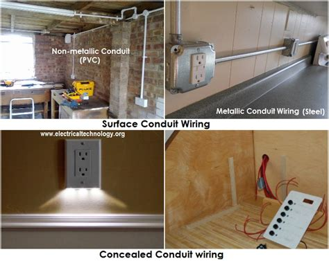 Types Wiring Systems Methods Electrical