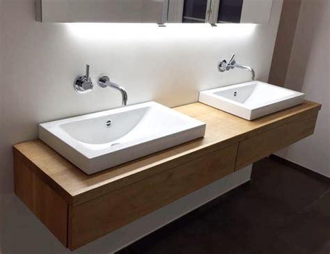 Waschtisch Eiche Geölt by Waschtischunterschrank Aus Holz Modern Massiv Eiche