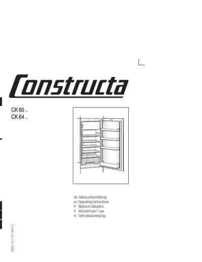 einbauschrank für kühlschrank constructa ck 60240k 195 188 hlschrank pdf anleitung f 195 188 r herunterladen kostenlos 74