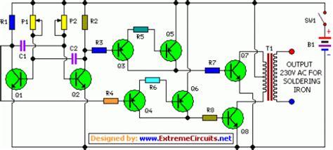 inverter circuit  soldering iron  circuit
