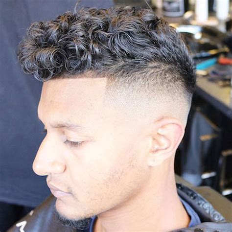 Curly Hair Fade   Men's Hairstyles   Haircuts 2018