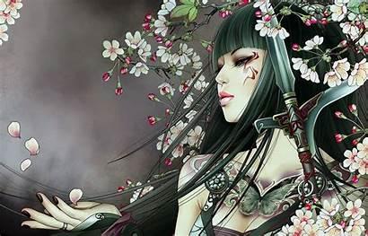 Wallpapers Samurai Tattoo Tattoos Fantasy Sword Anime