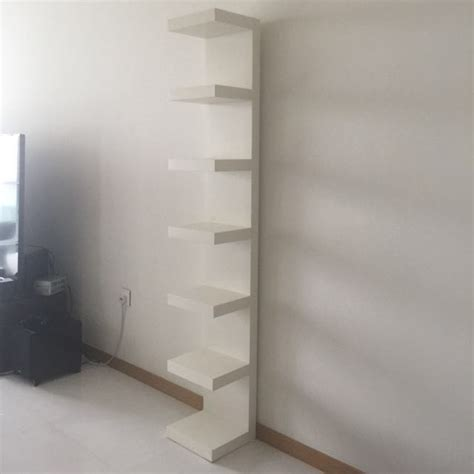 Ikea Mensole Lack by Ikea Lack Wall Shelf Unit White 30x190 Cm Furniture