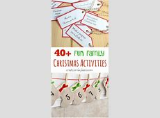 Christmas activities for advent calendar