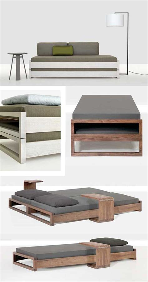 Ikea Sofa With Storage by Simple Stacking Guest Bed King Size Or Twin Diy Project