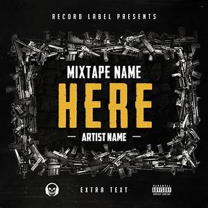 Free hip hop mixtape cover v6 psd by shiftz on deviantart for Hip hop mixtape covers