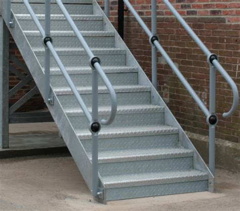 Metal Staircases  Fire Escape Stairs